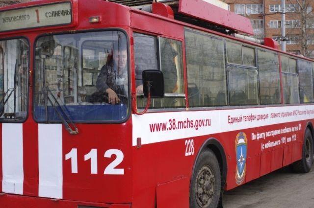 «Спецтранспорт» курсирует по городу.