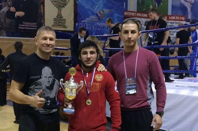 Заюндин Сулейманов также стал обладателем приза за лучшую технику.