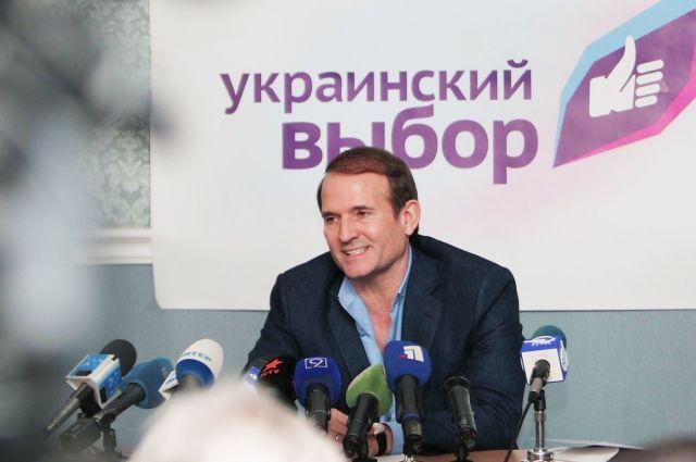 «Финансирование сепаратизма»: Парубий сообщил вГПУ материалы наМедведчука