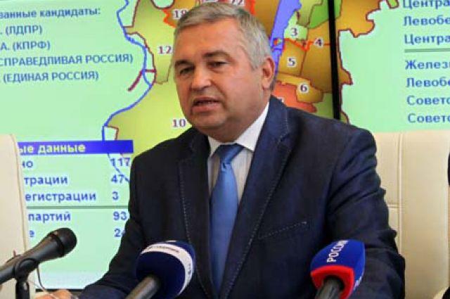 Владимир Селянин ушел изворонежского облизбиркома