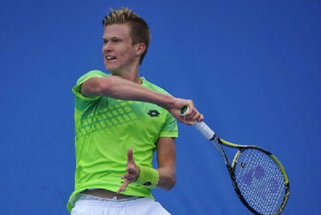 В одиночном разряде турнира Богдан Бобров смог дойти до второго круга соревнований.