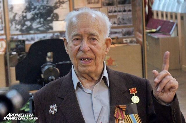 За плечами Петра Пызина две войны. Был тяжело ранен, но оптимизма никогда не терял.
