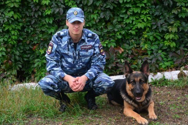 ВКамышине открылся полицейский Центр кинологической службы