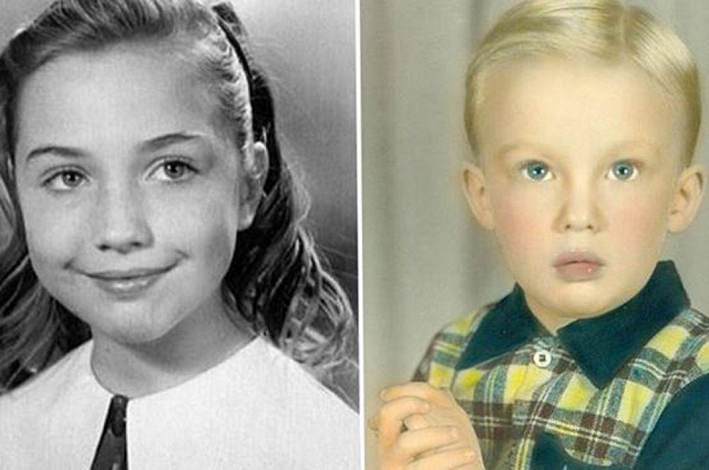 Будучи детьми, главные кандидаты на пост президента США выросли в разных штатах. Хиллари выросла в Чикаго, а Дональд в Нью-Йорке