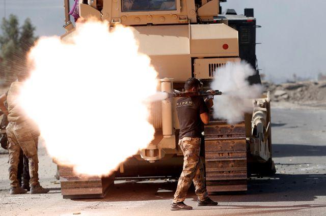 Исламские боевики изэкстремистской группировки похитили 300 служащих иракских спецслужб