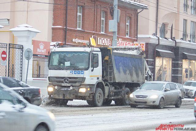 Мэрия Перми: улицы прибрали на«твердую четверку»