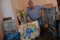 Сергей Нефёдов пишет не только картины, но и видеостихи.