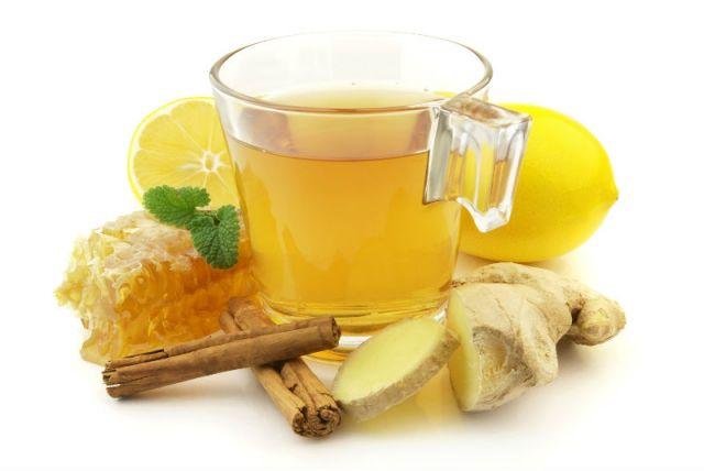 Имбирный чай нельзя пить при высокой температуре.
