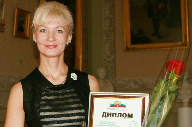 Лариса Мышкина стала лучшей медсестрой в России.