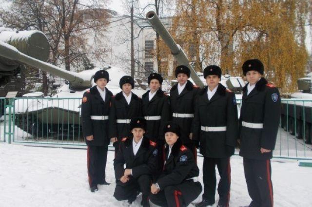 Бердские кадеты заняли первое место в военно-спортивных играх