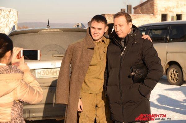 Георгий Дронов прилетел в Иркутск всего на один день.