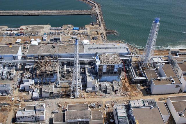 ВЯпонии навсе 100% разобрали купол над первым блоком АЭС «Фукусима-1»