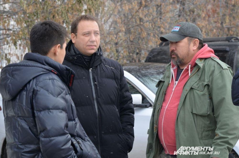 Режиссер Солбон Лыгденов пригласил Георгия Дронова в свой фильм задолго до начала съемок.