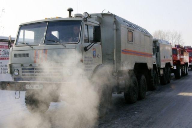 МЧС ежесуточно оповещает водителей большегрузов о погоде и состоянии дорог.
