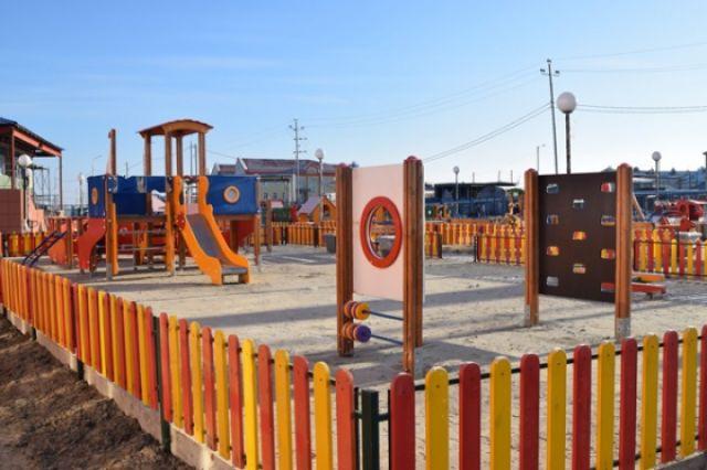 ВШурышкарском районе накарантин закрыт детский парк