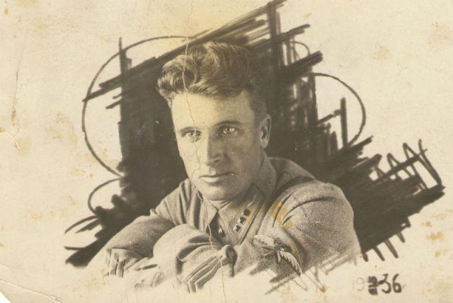 Николай Никитович Охотов в 1936 г. в Белоруссии.