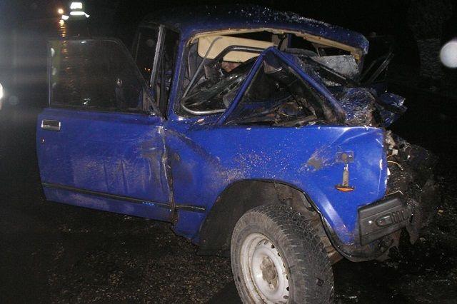 В Колышлейском районе столкнулись ВАЗ-2107, грузовая «ГАЗель» и «Mercedes Benz».