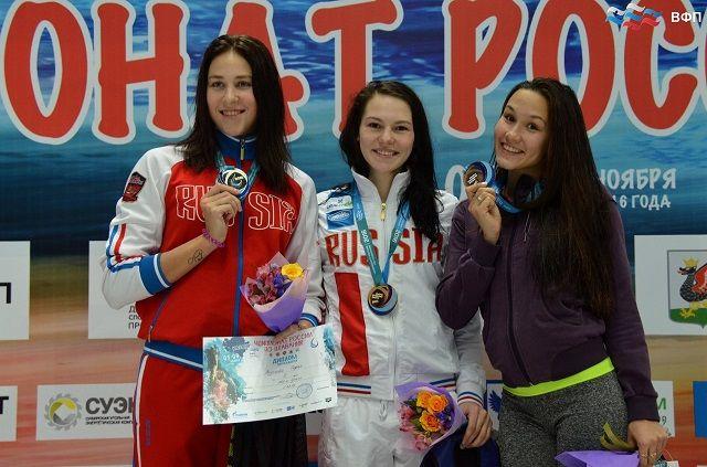 Пензячка— чемпионка Российской Федерации  поплаванию