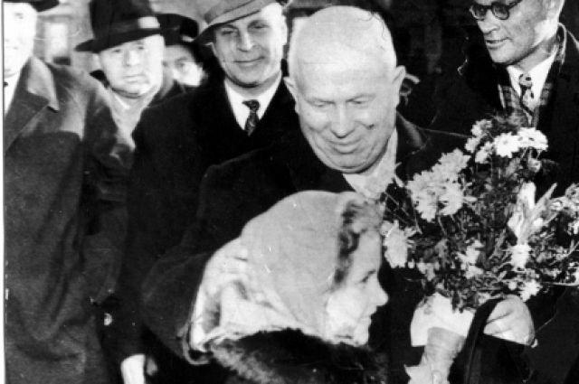 Осенью 1959 года в Красноярск впервые приехал Хрущев.