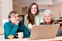 Не разобрались в Интернете сами - попросите внуков помочь.