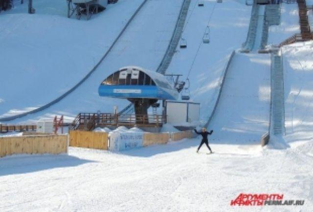 К 2019г вНижнем Новгороде планируют построить лыжный трамплин