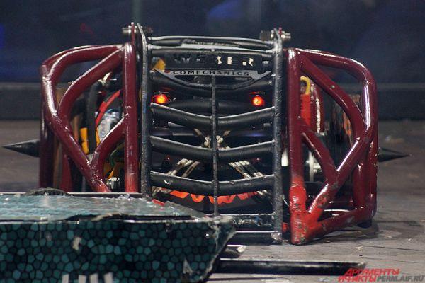 Дизайн роботов оставался на усмотрение техников.