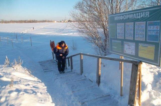 ВАрхангельской области открылась первая ледовая переправа вданном сезоне