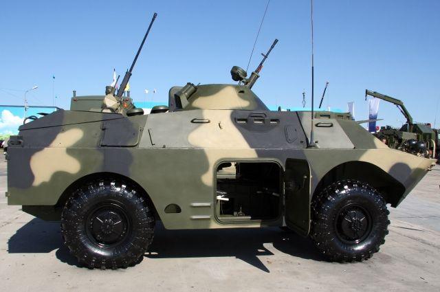 Боевые действия вСирии: БРДМ-2 теснит терористов вАлеппо