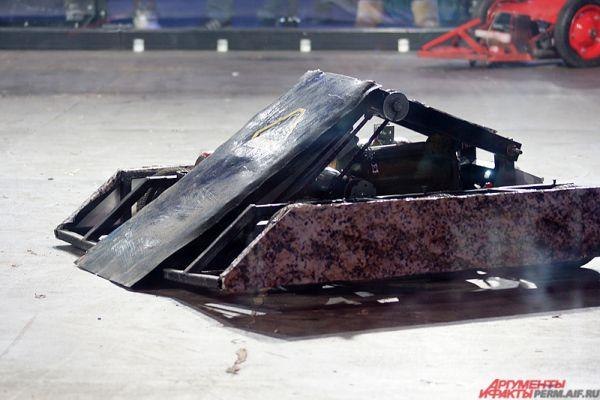 В Перми в четверг, 10 ноября, прошла международная «Битва роботов».