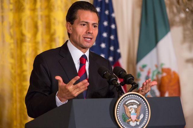 ВМексике призвали Трампа сотрудничать наблаго Северной Америки