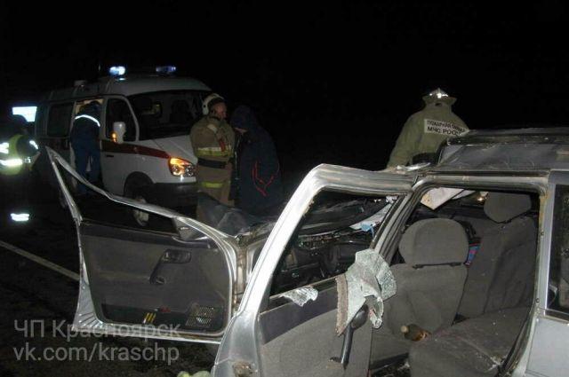 ВКрасноярском крае встолкновении автомобиля стабуном лошадей умер человек