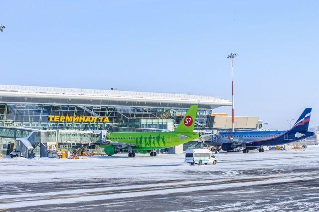 Аэропорт Казани закрыт из-за гололедицы