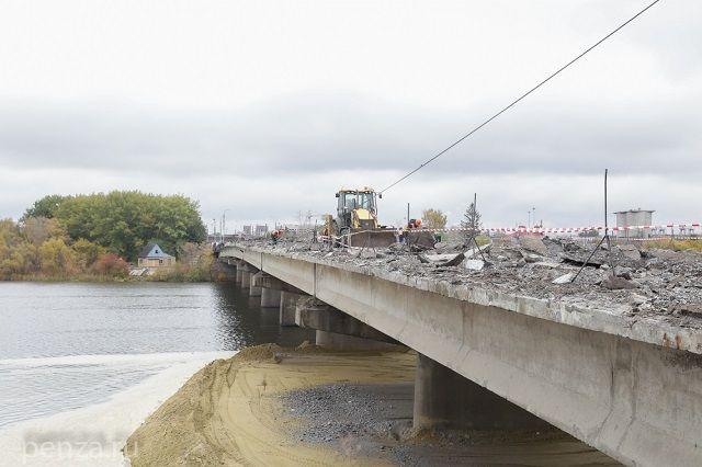На ремонт Свердловского моста в Пензе выделено 295 миллионов рублей.