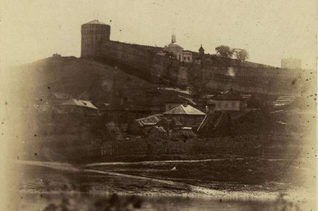 Вweb-сети интернет опубликовали одну изстарейших фотографий Смоленска