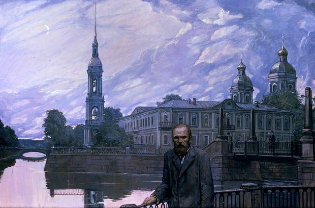 И. Глазунов «Ф.М. Достоевский. Белая ночь»