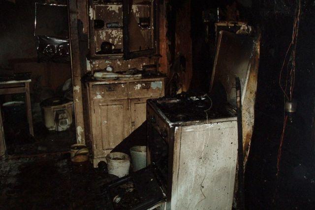 Напожаре вжилом доме вВологодской области умер мужчина