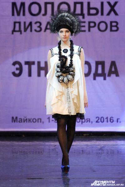 «Экзомода». 1 место – коллекция «Сорочинская ярмарка» (Алёна Некрасова).