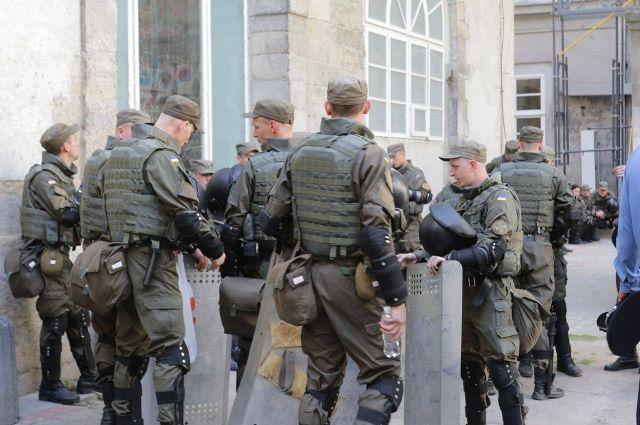 Шкиряк: Нацполиция иНацгвардия с14ноября переходит наусиленный режим службы