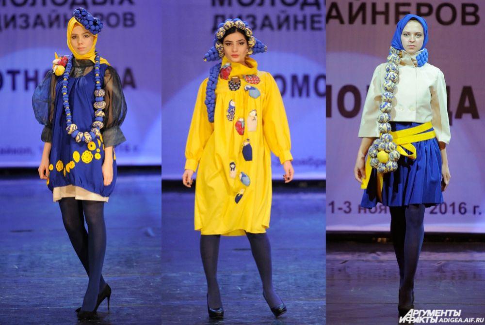 «Экзомода». 2 место – коллекция «В стиле RU» (Сергей Колмазин и Виктория Панова).