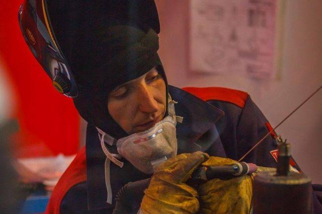 Дмитрий Кучерявин получил миллион рублей, выиграв конкурс на звание лучшего сварщика России.