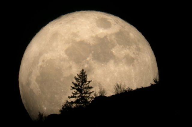 Луна еще не была так близко к Земле.