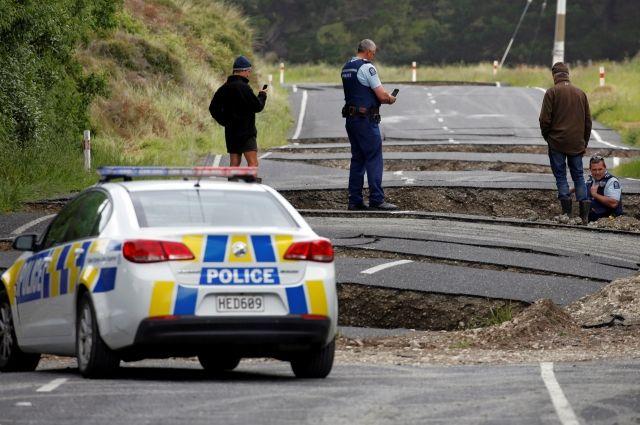 В новейшей Зеландии случилось 2-ое сильное землетрясение