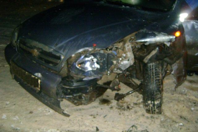 В ДТП пострадали не только машины