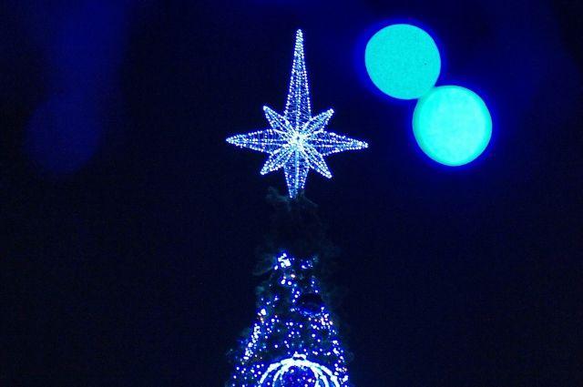 Красноярск вошел втоп-10 городов РФ для встречи Нового года