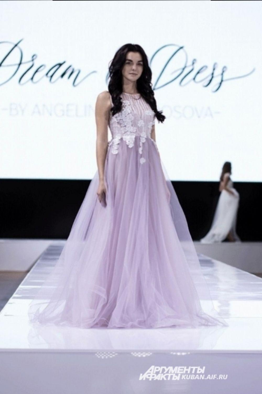 Платье-мечта от краснодарского модельера Ангелины Андросовой. Бренд Dream&Dress.