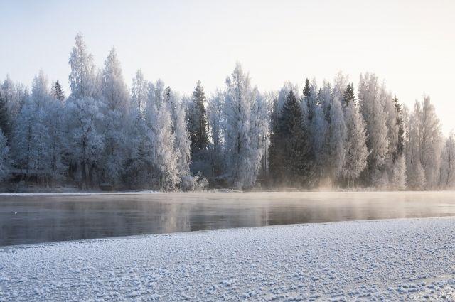 Врайоне Катравожа снегоход слюдьми ушёл под лёд
