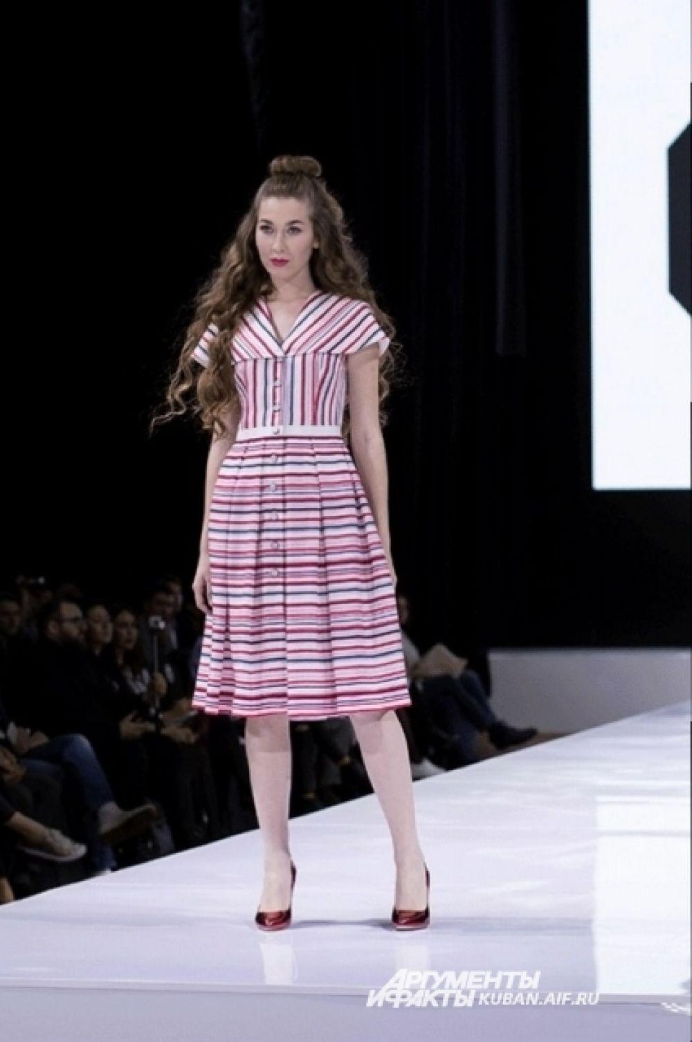 Платье-сарафан на каждый день от Ольги Куницыной.