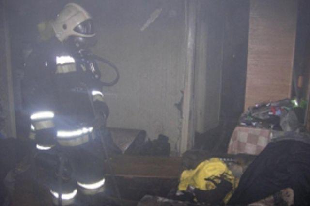 ВВязьме впожаре мужчина отравился угарным газом