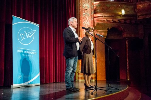 Меценат Игорь Янковский открывает Дни укранского кино в Будапеште