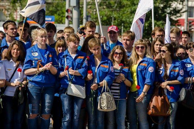 Знамя лучшего регионального отделения студенческих отрядов в Омске